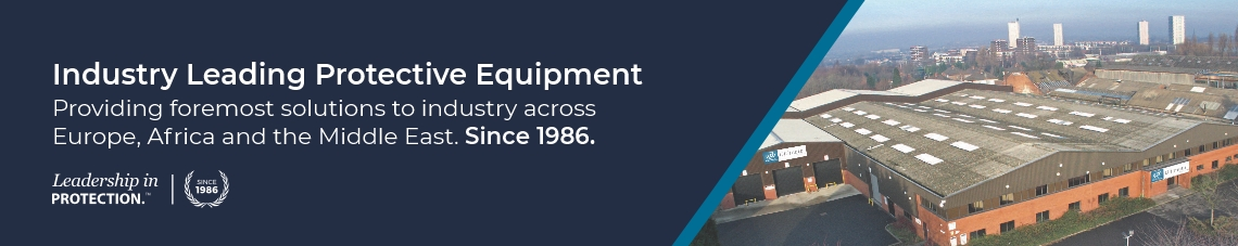 Industry Leading Protective Equipment. Providing foremost solutions to industry across Europe, Africa and the Middle East. Since 1986.