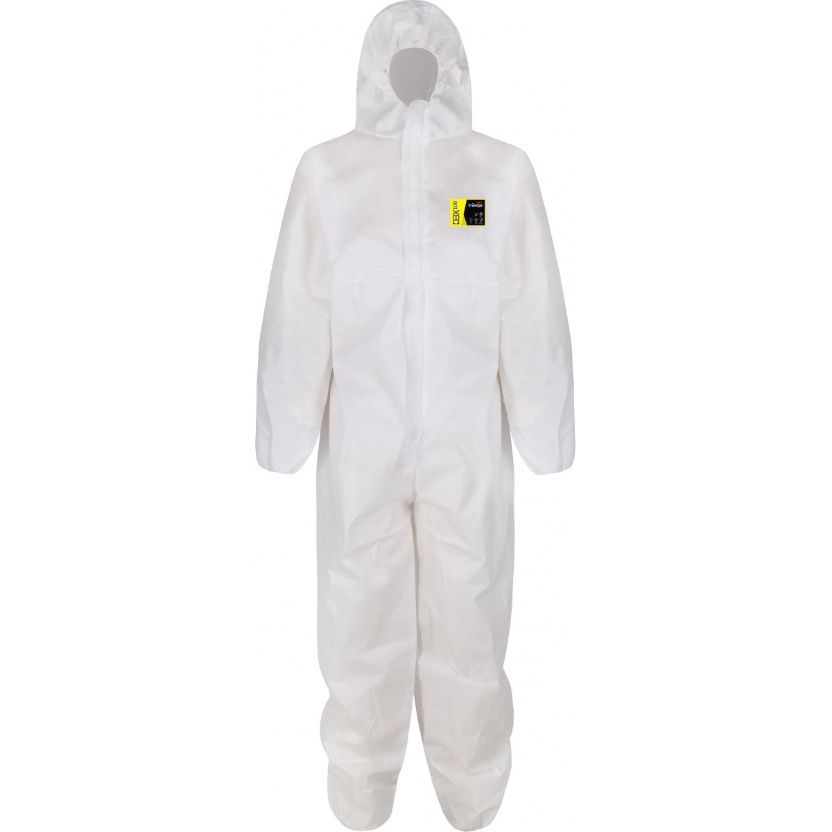 The Chemical Hut Pack of 5 Type 5//6 Disposable Paper Overall Coverall Protectors Medium